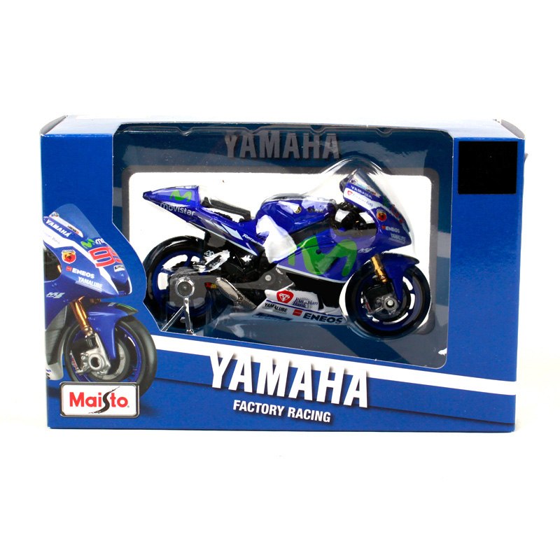Yamaha Factory Racing Team #99 Lorenzo GP 2016 Maisto Motorrad 1:18
