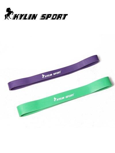 grüne und purpurrote Kombinationswiderstandsbänder üben pilates Yoga-Eignungsbandschlauch-Training für Großverkauf aus