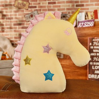 Soft Plush Unicorn Pillow