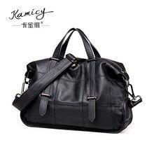 women handbag 2018 summer genuine leather tote bag fashion splicing shoulder bags ladies handbags messenger