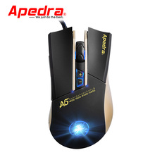 New USB Wired Computer Mouse 3200DPI Macro Program Optical Gaming Mouse Gamer Cable Mice for PC Laptop Game LOL CSGO Dota