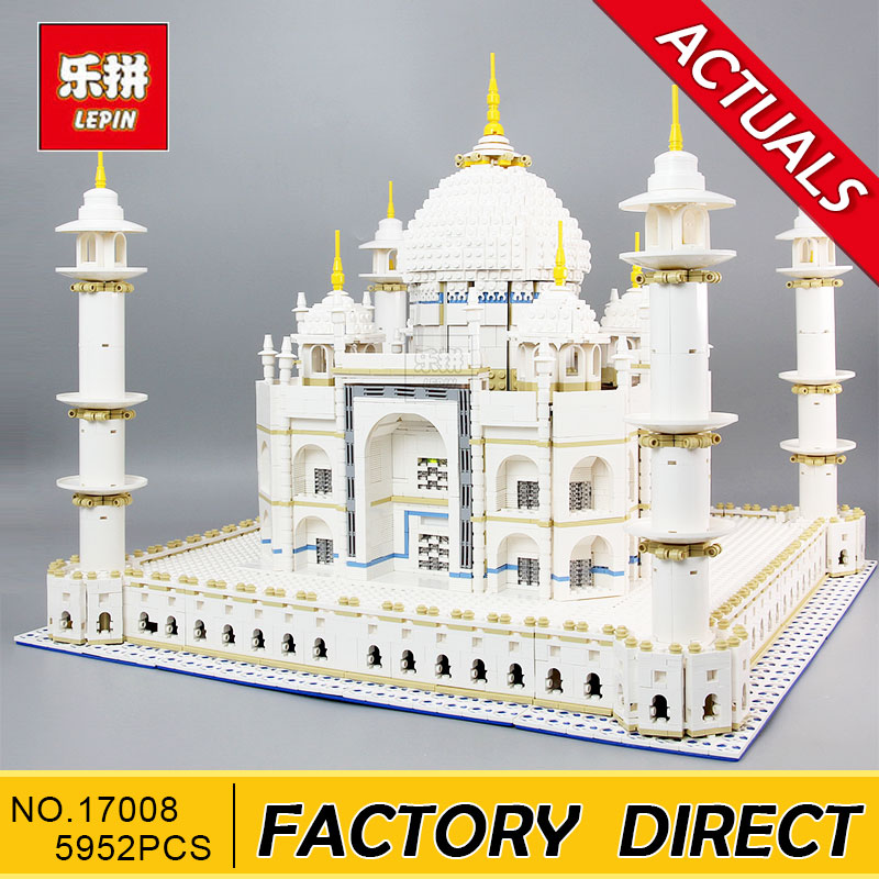 Lepin 17008/17001 5952pcs The Tai Mahal Model Building Kits Brick Blocks Toys Compatible 10189 Children Educational Funny Gift children sports suit 2017 winter tracksuit kids teenage girls clothes two piece set children clothing school girl outfit 6 year