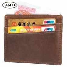 Card Holder Leather RFID Blocking Credit Slim ID Case