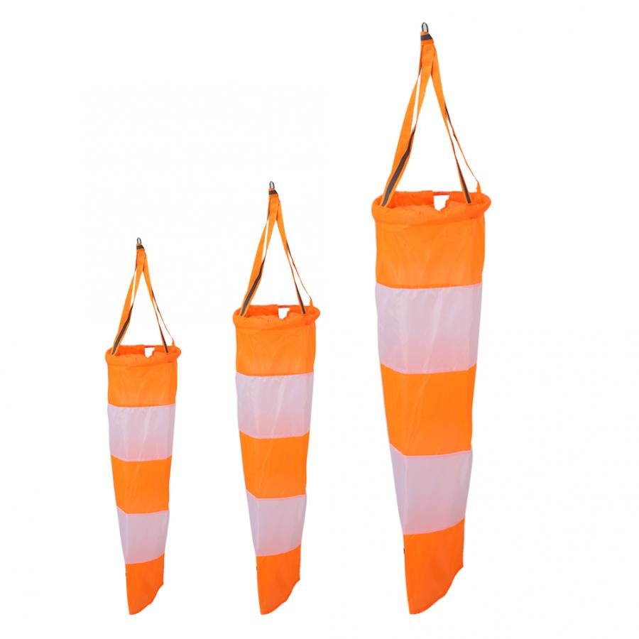 Nylon Airport Windsock -stop Outdoor Wind Measurement Sock Bag Toy Kite Wind Monitoring Wind Indicator for Meteorology