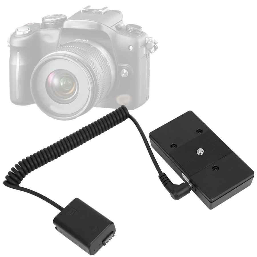 F970 البلاستيك المحمولة كاملة مكود الدمية بطارية حزمة المقرنة محول ل NP-FW50 بطارية ل DSLR كاميرا