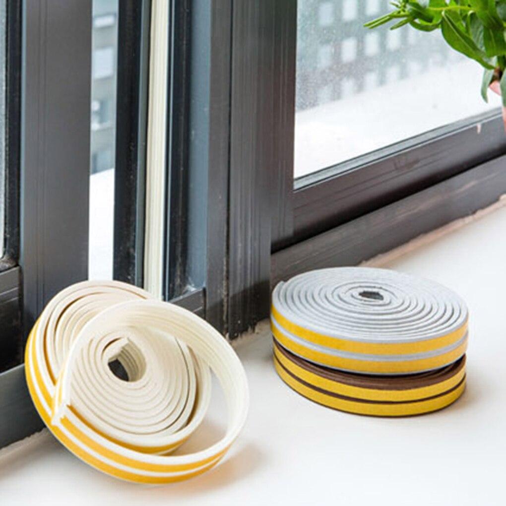 Energisch Wasser-proofing Band Tür Isolierung Abdichtung Streifen Fenster Anti-kollision Selbst-adhesive Streifen Heimwerker