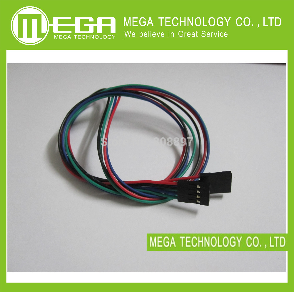 5Sets 70cm 4 Pin Female To Female Jumper Wire Dupont Cable For 3D Printer