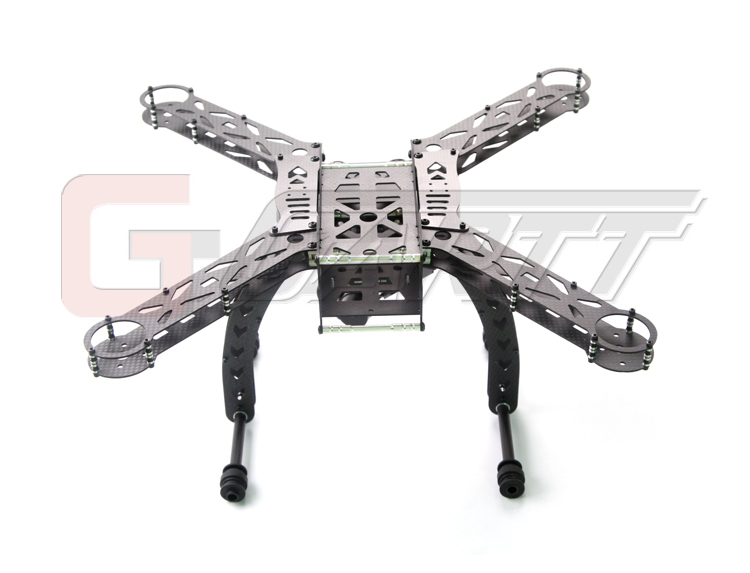 GARTT MERCURY-X4.0 Carbon Fiber Quadcopter frame RC drone without any electronic equipment carbon fiber 12a qav250 quadcopter frame