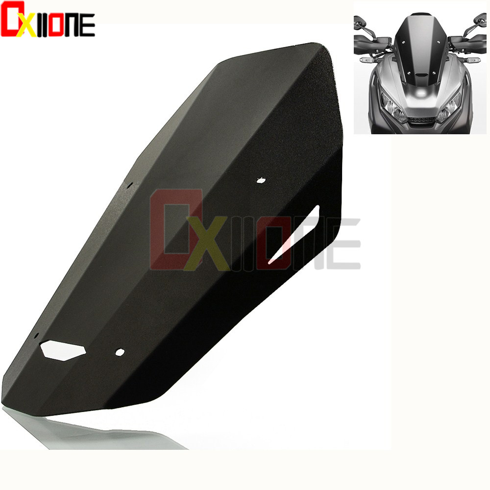 Motorcycle Windshield Windscreen For Honda xadv 750 CNC Black Clear Accessories Covers motorcycle front windshield