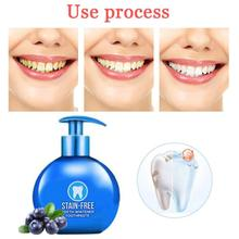 Magical Baking Soda Whitening Toothpaste Fruit Press Type Intensive Stain Removal Teeth Whitening Cleaning Toothpaste Oral Care