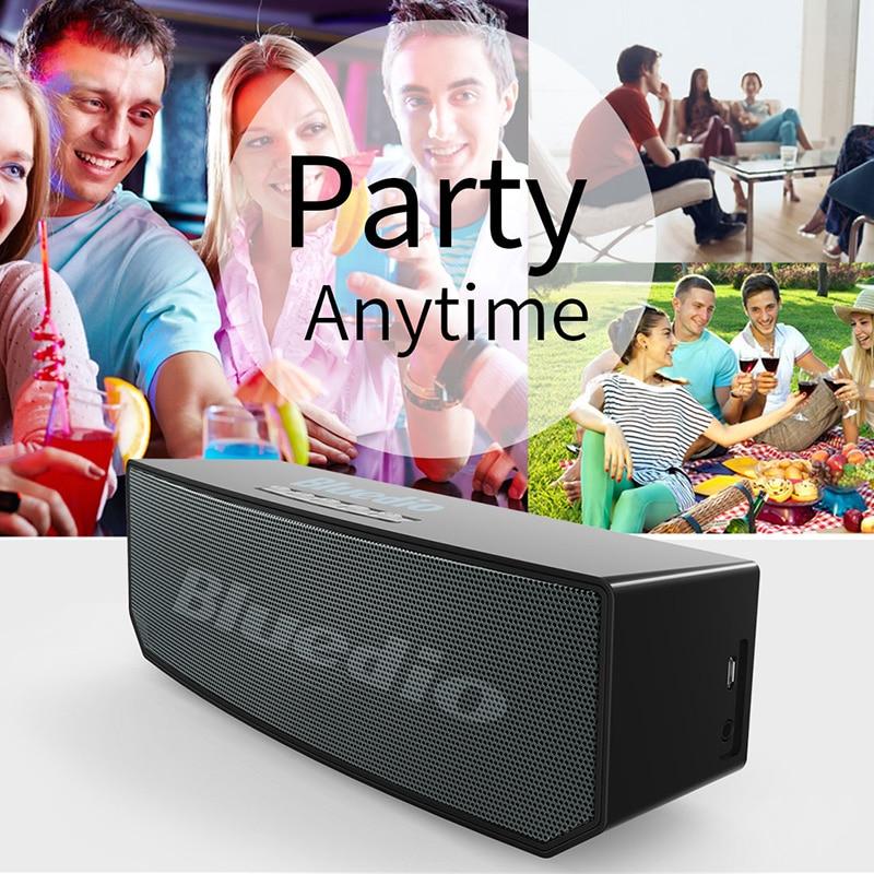 2017 жаңа элементі Bluedio BS-5 (түйе) Mini Bluetooth - Портативті аудио және бейне - фото 5