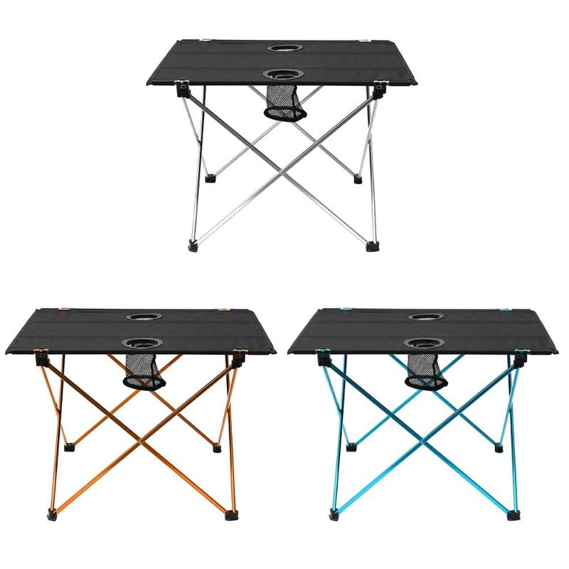 Portable Lightweight Outdoors Table For Camping Table Aluminium Alloy Picnic BBQ Folding Table Outdoor Activties Tavel Tables new outdoor folding tables and chairs combination set portable lightweight for picnic bbq camping aluminum alloy easy fold up