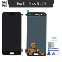 LCD Display For One Plus Oneplus 5 LCD Screen Touch Digitizer Glass Assembly Replacement Pantalla Black