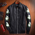 Chinese style embroidery flower pattern quality MA1 bomber jacket Spring&Autumn new arrival fashion boutique jacket men M-3XL