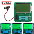 GM328A Transistor Tester Graphic Wave Signal RLCESR Meter Inductance Free Shipping
