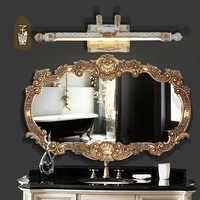 الأوروبي نمط مرآة حمام الجدار مصباح الرجعية LED أضواء المرحاض أضواء أضواء خزانة حمام إضاءات جدران ضد الماء wl4181718