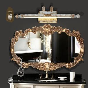 European-style bathroom mirror