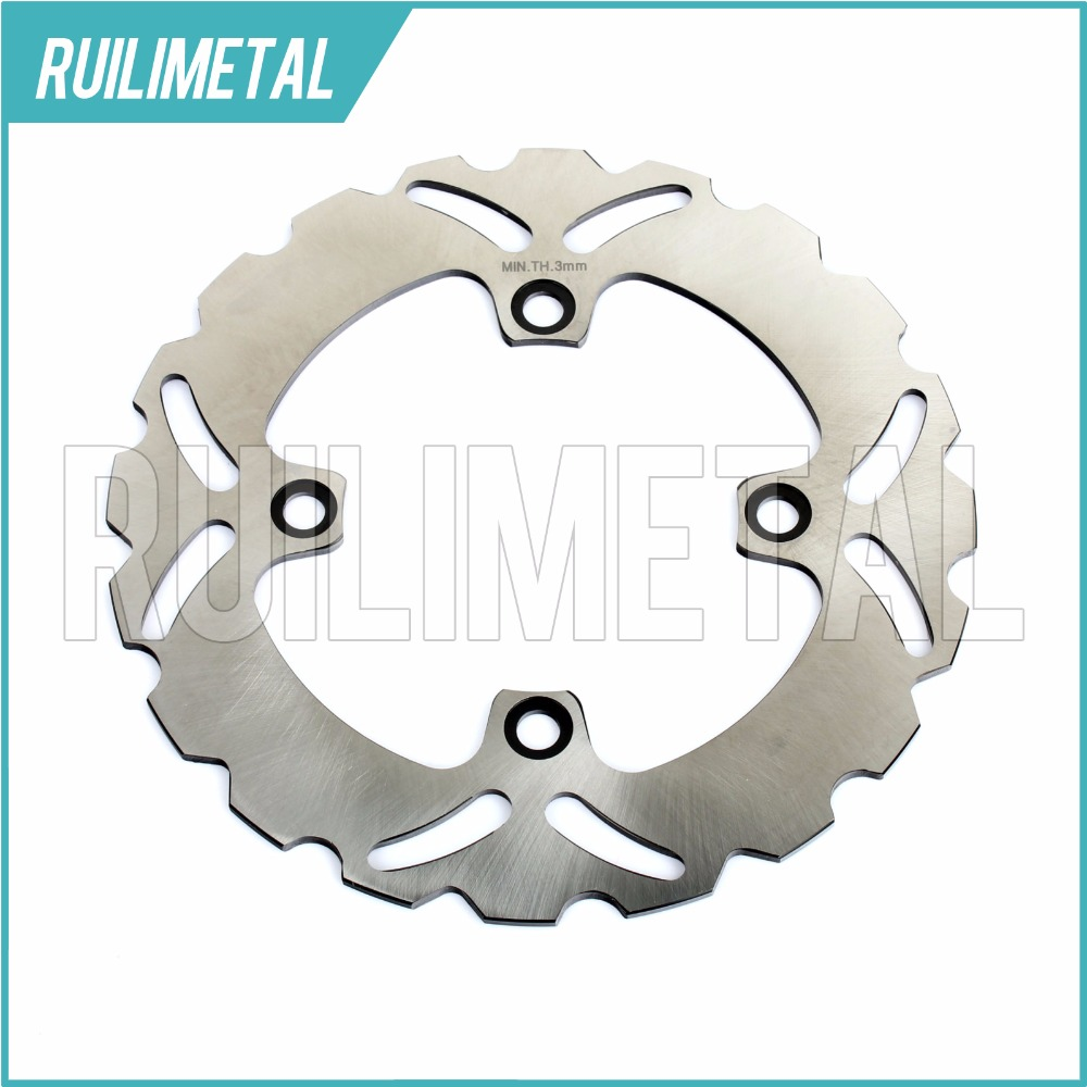 Rear Brake Disc Rotor for kawasaki ZX6R NINJA 600 636 ABS ZX6RR ZX 6R 6RR ZX-6R ZX-6RR 2003 2004 2005 2006 03 04 05 06 mfs motor motorcycle part front rear brake discs rotor for yamaha yzf r6 2003 2004 2005 yzfr6 03 04 05 gold