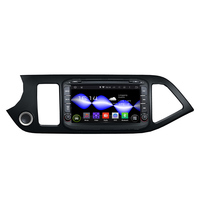 Android 7.1 Car Stereo DVD DVR GPS Sat Nav 3G CD player MP3 Player Bluetooth HDMI Car Multimedia Player for KIA Morning Picanto