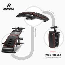 ALBREDA фитнес портативная сидячая скамья машина для дома доска для фитнеса тренажер для пресса оборудование для тренажерного зала тренировки мышц FE341