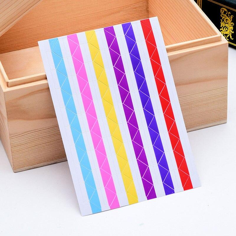 Новый 1 комплект 102 шт наклейки-уголки для фото Декорации для альбомов фотографии угловая Защита ПВХ рамка скрапбукинг украшения