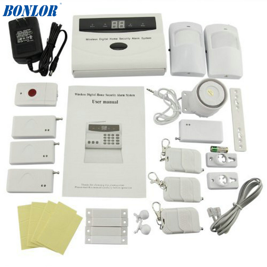 BONLOR Store (TM) S02-A Wireless Home Security Alarm System DIY Kit with Auto Dial цена