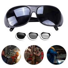 Очки для велоспорта, солнцезащитные очки для сварки, антибликовые очки для сварщика, ветрозащитные очки для улицы, защитные очки с защитой от ультрафиолета