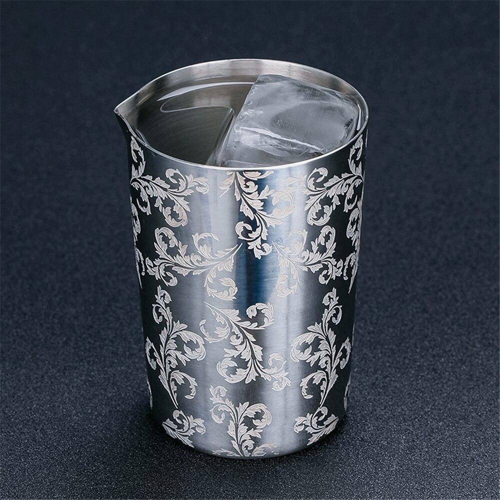Agitação de Aço inoxidável Lata De Mistura De 500 ml de Vidro Preferido por Profissionais e Amadores Fazer Sua Própria Especialidade Cocktail