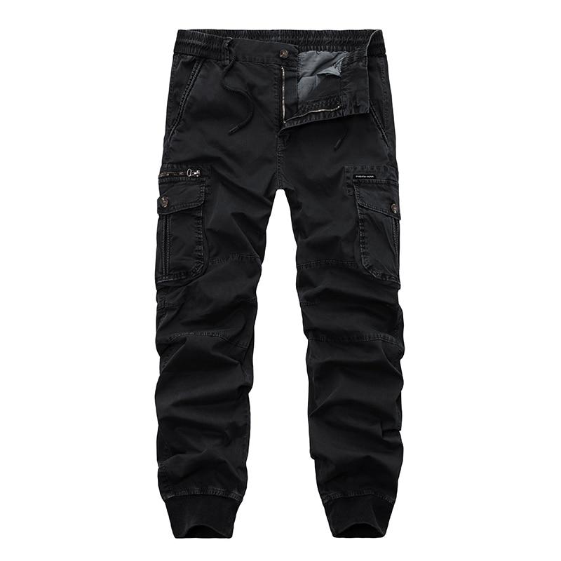 drop shipping autumn men military cargo pants cotton casual camouflage sweatpants joggers pantalon hombre 30-38 XP29