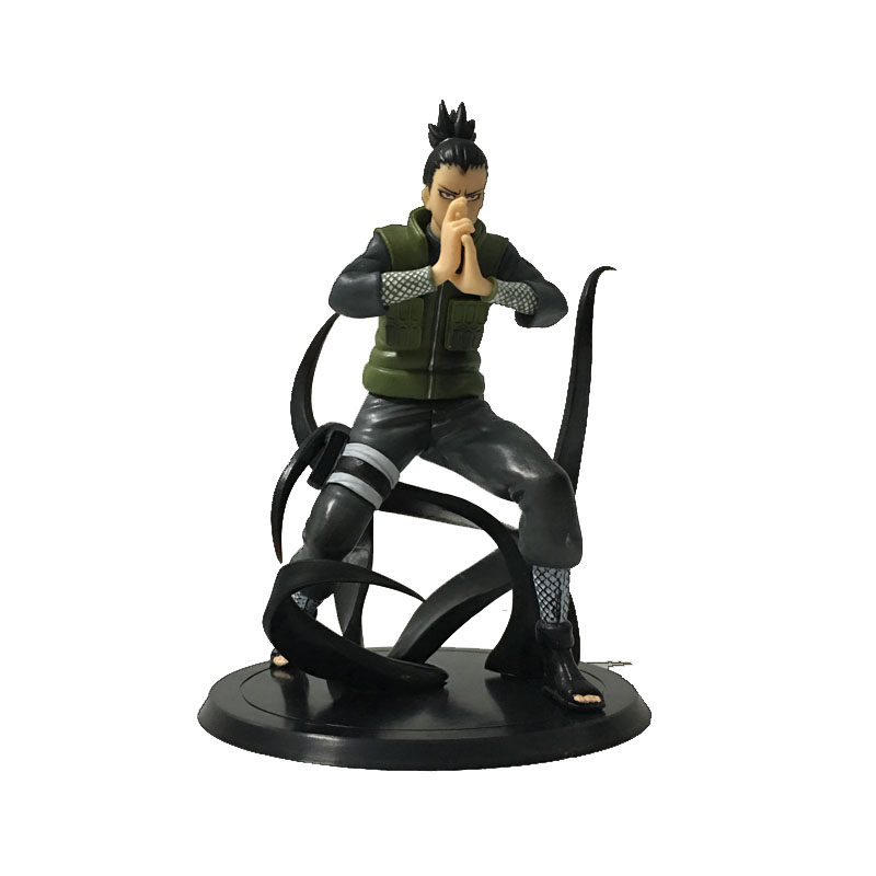 Japanese Toys Naruto Figures Nara Shikamaru Shadow bound technique Action Figure 16cm PCV Collection Model Decoration Gfit