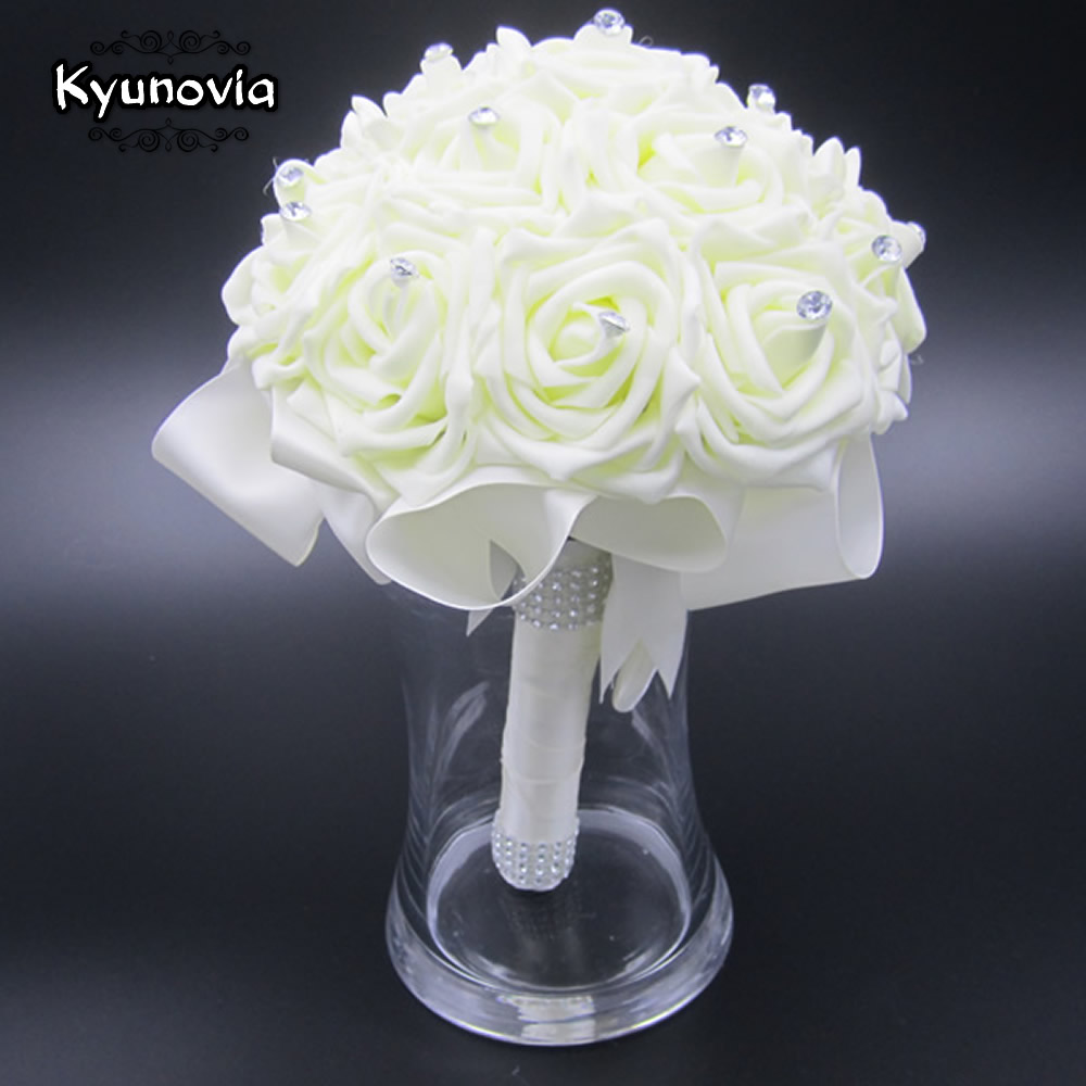 Kyunovia Beautiful Wedding Bouquet Bridal Bridesmaid