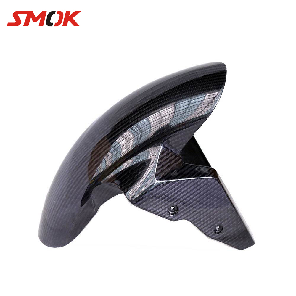 SMOK Motorcycle Carbon Fiber Front Fender Splash Mud Dust Guard Mudguard For BMW S1000RR S 1000 RR 2009-2014 2015 2016 2017 2018