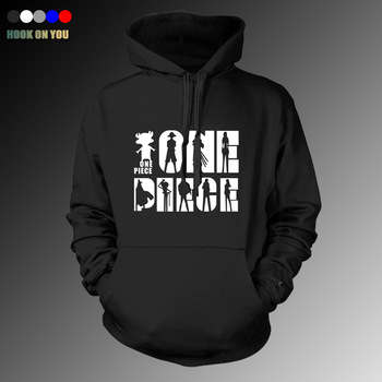 2017 Fashion Hot Anime One Piece Men Pullover Hoodie Funny Sweatshirt The Straw Hat Pirates Print Sweatshirt Cool Casual Clothes