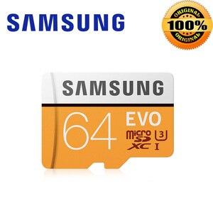 Image 4 - بطاقة ذاكرة سامسونج مايكرو sd 128gb 64gb SDHC SDXC FT tarjeta بطاقة sd EVO + micro sd 32 gb C10 بطاقات UHS TF عبر فلاش مايكرو sd