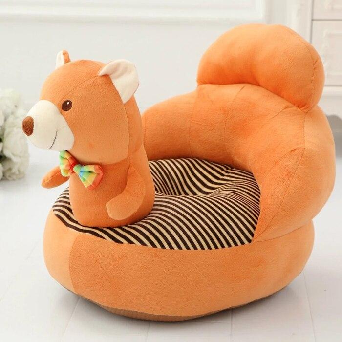 Nuevo bebé a aprender a sentarte sofá asiento de seguridad infantil de dibujos animados perezoso bebé asiento cojín almohada habitación aprendizaje sofá almohada 4M ~ 3Y - 2