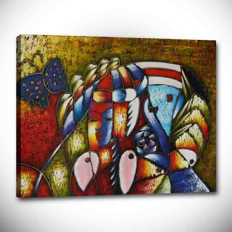 World famous paintings Picasso painting abstract painting Picasso painting abstract woman Hand painted copy wholesale PFB 008