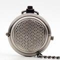 Новая Мода Уникальный Дизайн Матовый Серый Поворотный Оболочки Ручной Ветер Механические Карманные Часы Мужчины Женщины Подарок M137