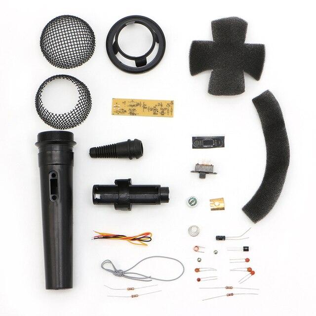 FM Частота Модуляции Беспроводной Микрофон Люкс Электронный Научить DIY Kit