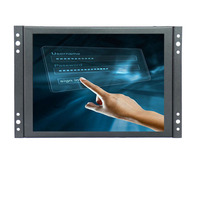 8 Inch TFT Touch Monitor 1024x768 Resolution Display Portable 4 3 HD Color Video Screen Support
