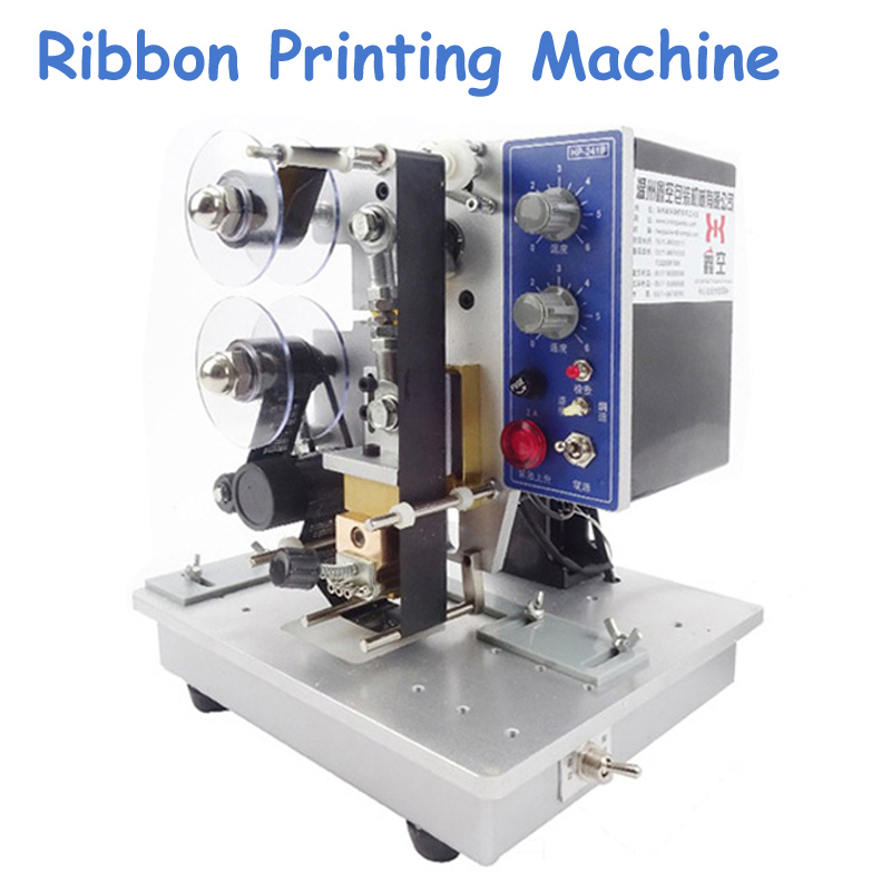 цена Electric Date Coding Machine Ribbon Printer Low Price Batch Coding Machine Popular Printing Machine HP-241B онлайн в 2017 году