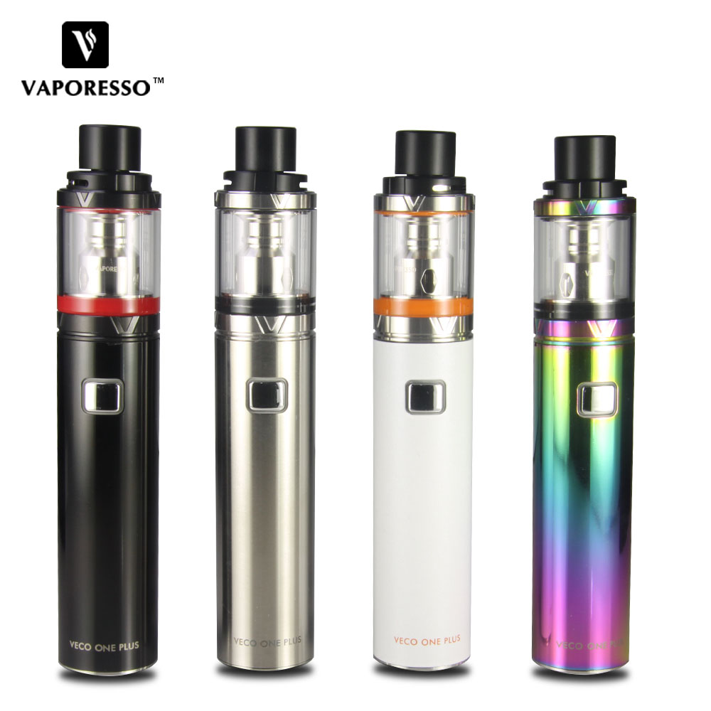 Kit de démarrage d'origine Vaporesso VECO ONE Plus 3300 mAh batterie 4 ml VECO Plus réservoir 0.3ohm EUC bobine E Cig VECO ONE Plus Kit nouveau