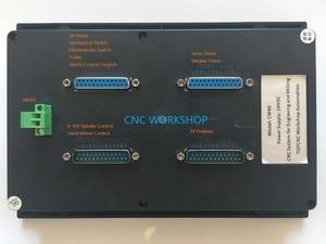 Image 3 - 4 ציר CNC בקר USB להחליף mach3 בקרת MPG Stand לבד חריטת כרסום נתב צעד סרוו מנוע מאך 3 בקר