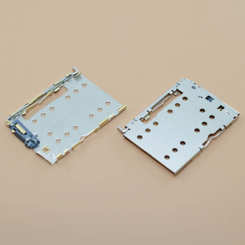 YuXi 1piece High quality sim card socket for Meizu MX5 memory reader holder tray slot replacement module.