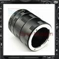 Macro Tubo de Extensión Macro 3 Anillos Para Panasonic Olympus 4/3 M43 Sin Espejo Lente de la cámara EM10 EP5 EM5 EM1 EPL6 GX7 GX1 GH3 G5 G6