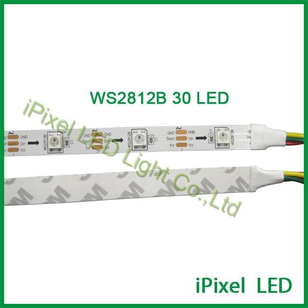 magic digital dream color flexible strip led lighting apa102 30led smd5050
