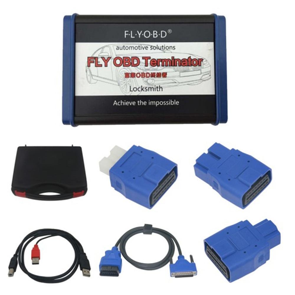 Fly OBD Терминатор полная версия включает иммобилайзер одометром cbsreset водителя синхронизации программы получить бесплатную J2534 обновления пр...