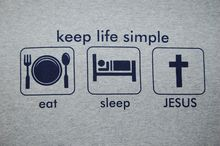 CEA Christ T-shirt, Keep Simple Life, Jesus Cross Shirt, Christian  Apparel Free shipping Tops Fashion Classic Unique gift