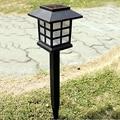 MIRSOU 4PCS Outdoor Waterproof LED Solar Garden Patio Lamp Led Solar light Changeable Color