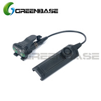 Greenbase Tactical Remote Dual Switch Assembly For X Series X300 X400 WeaponLights Tape Switch Constant Momentary Control