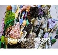 Выбирайте собственные цвета, 3576 штук ниток для вышивки крестиком/нитки для вышивки